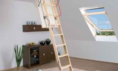Fakro Lwk Ahşap Çatı Merdiveni