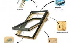 Fakro Standart Çatı Penceresi
