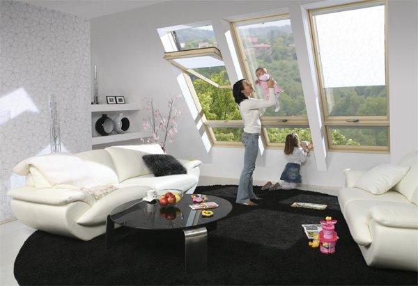 Fakro Yüksek Pivot Pencereleri