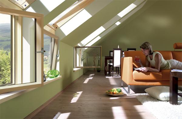 L Kombinasyonlu Çatı Penceresi Resmi