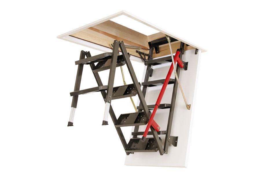 Lux Metal Çatı Merdiven Modelleri