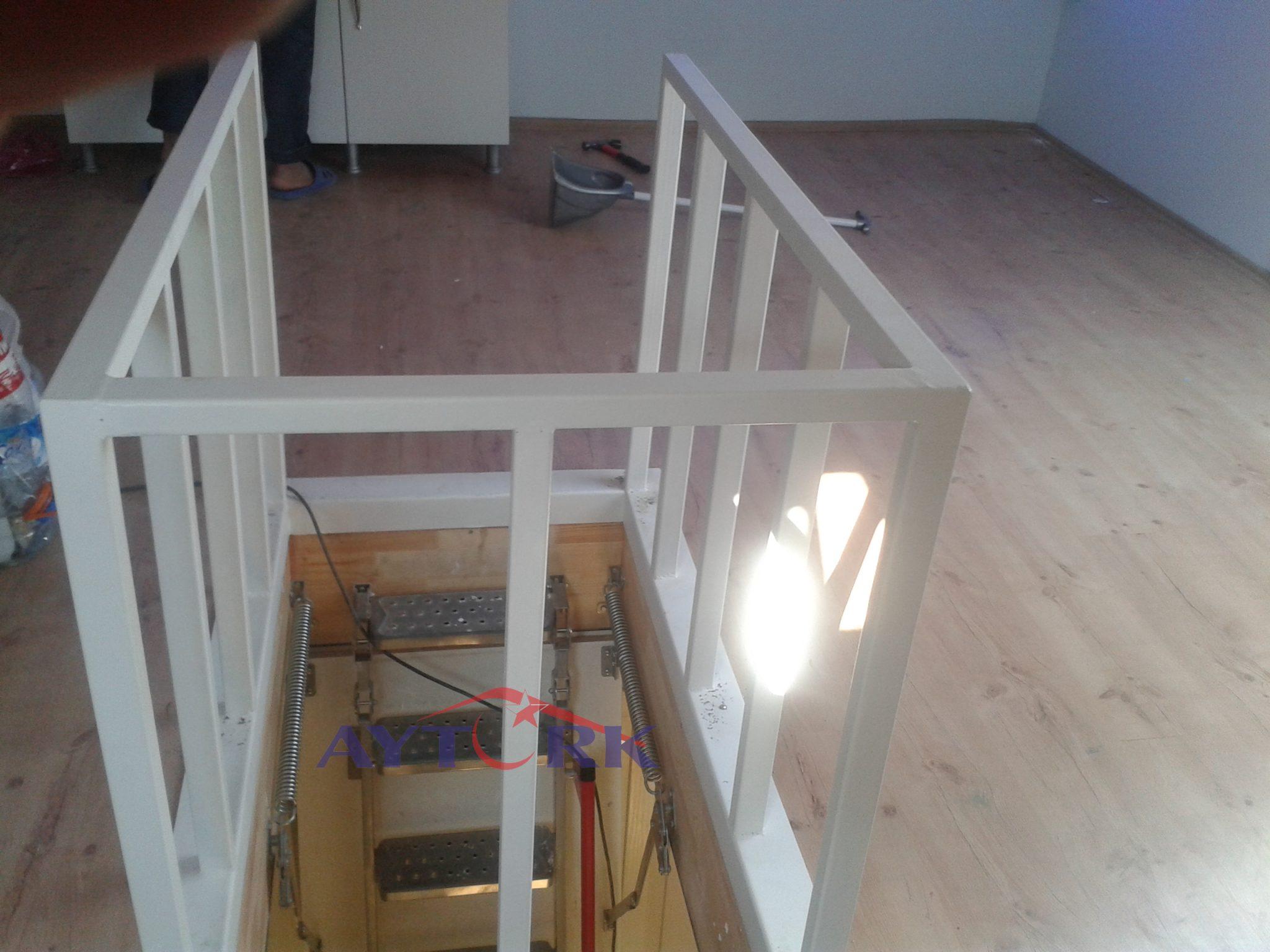 Lux Metal Çatı Merdiveni Sipariş