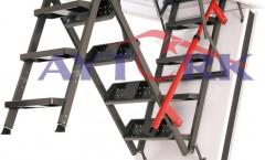 Lux Metal Çatı Merdivenler