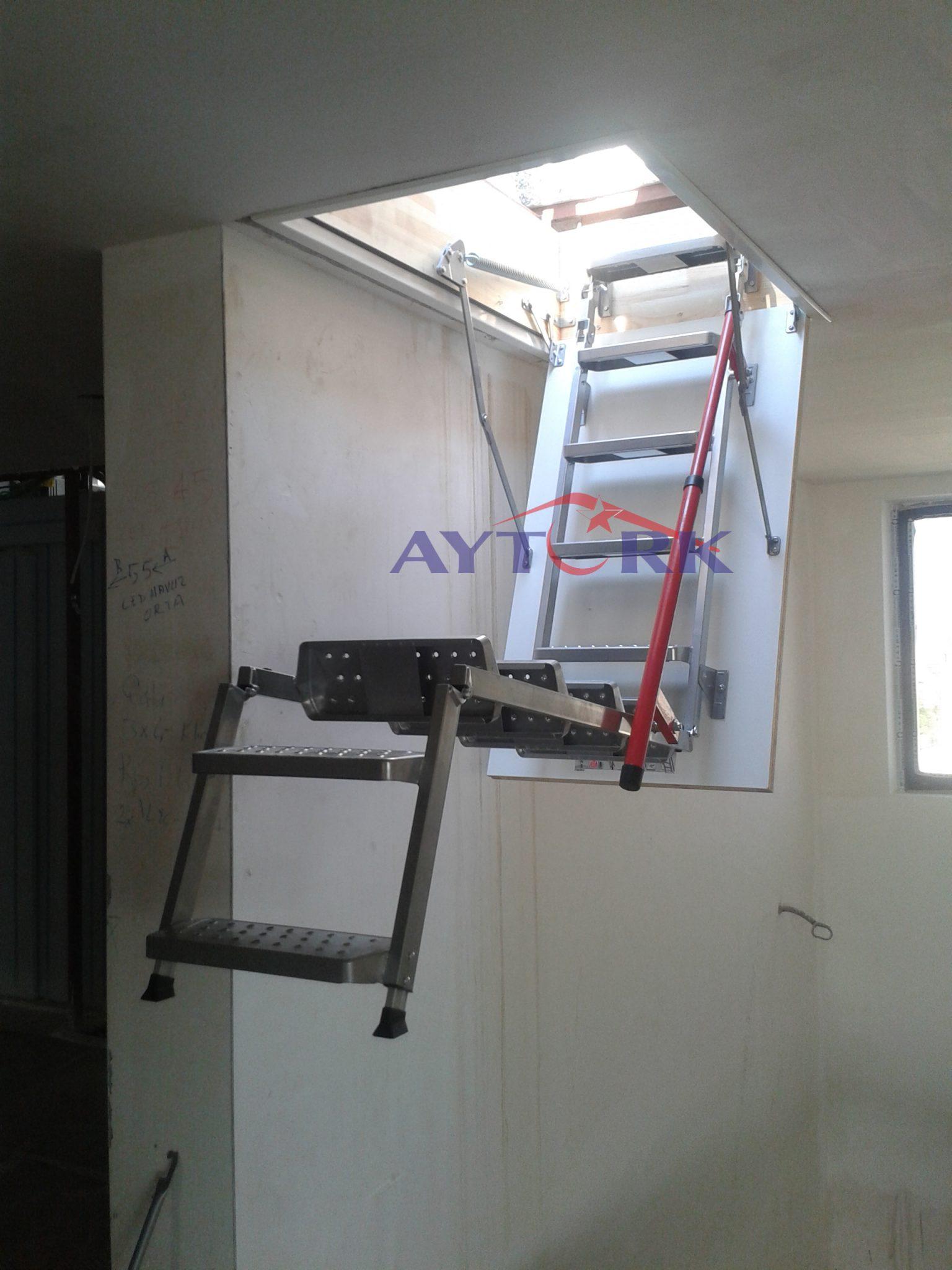 Lux Metal Çatı Merdivenlerimiz