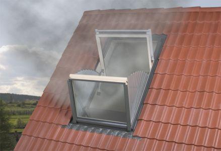 Duman Tahliye Çatı Penceresi