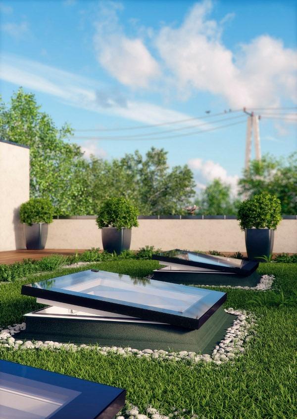 Fakro Düz Teras Çatı Pencere Modelleri