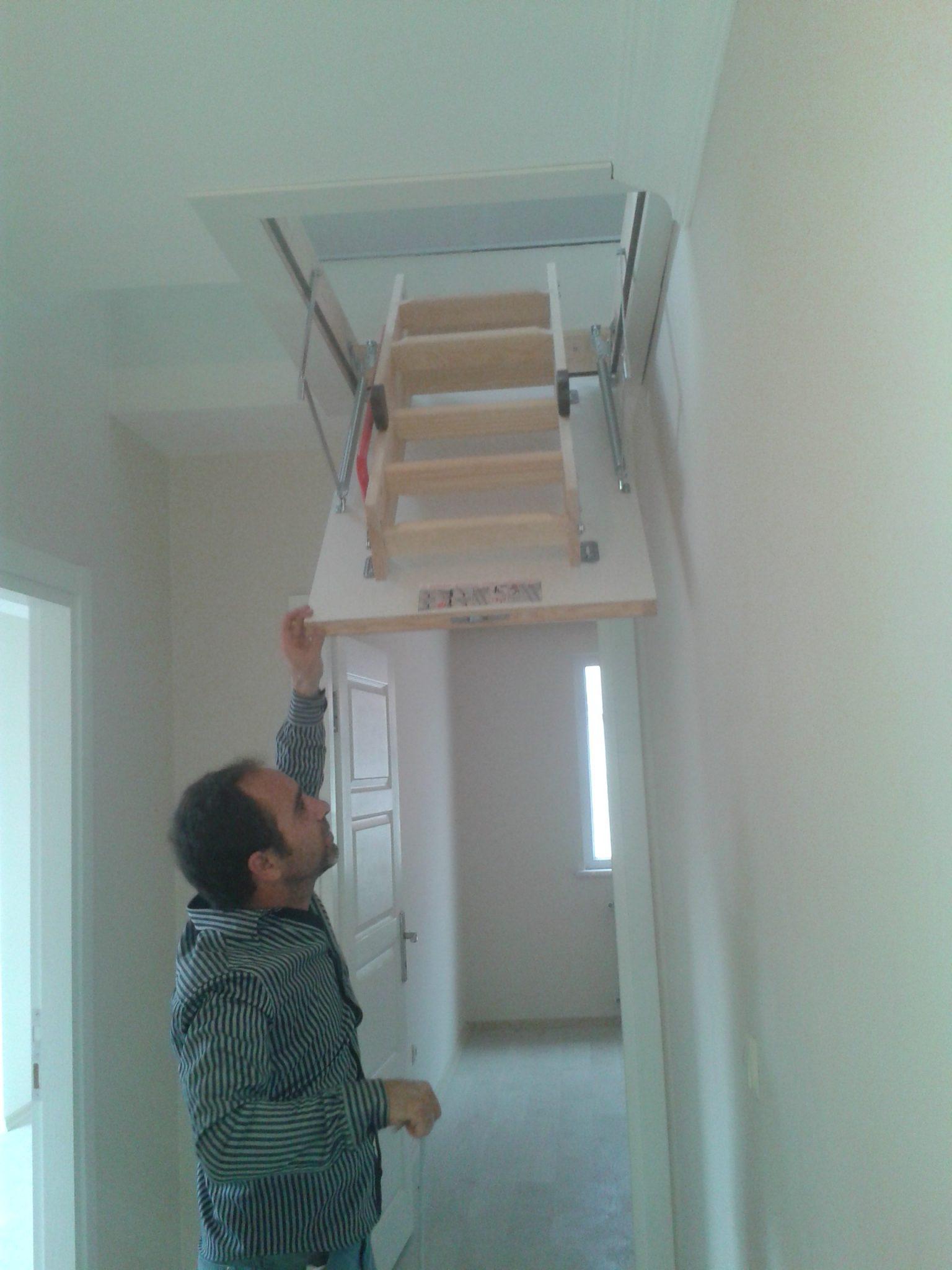 Fakro Lwk Ahşap Çatı Merdivenlerim